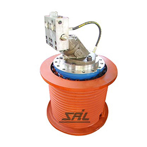 SLW880 series hydraulic winch
